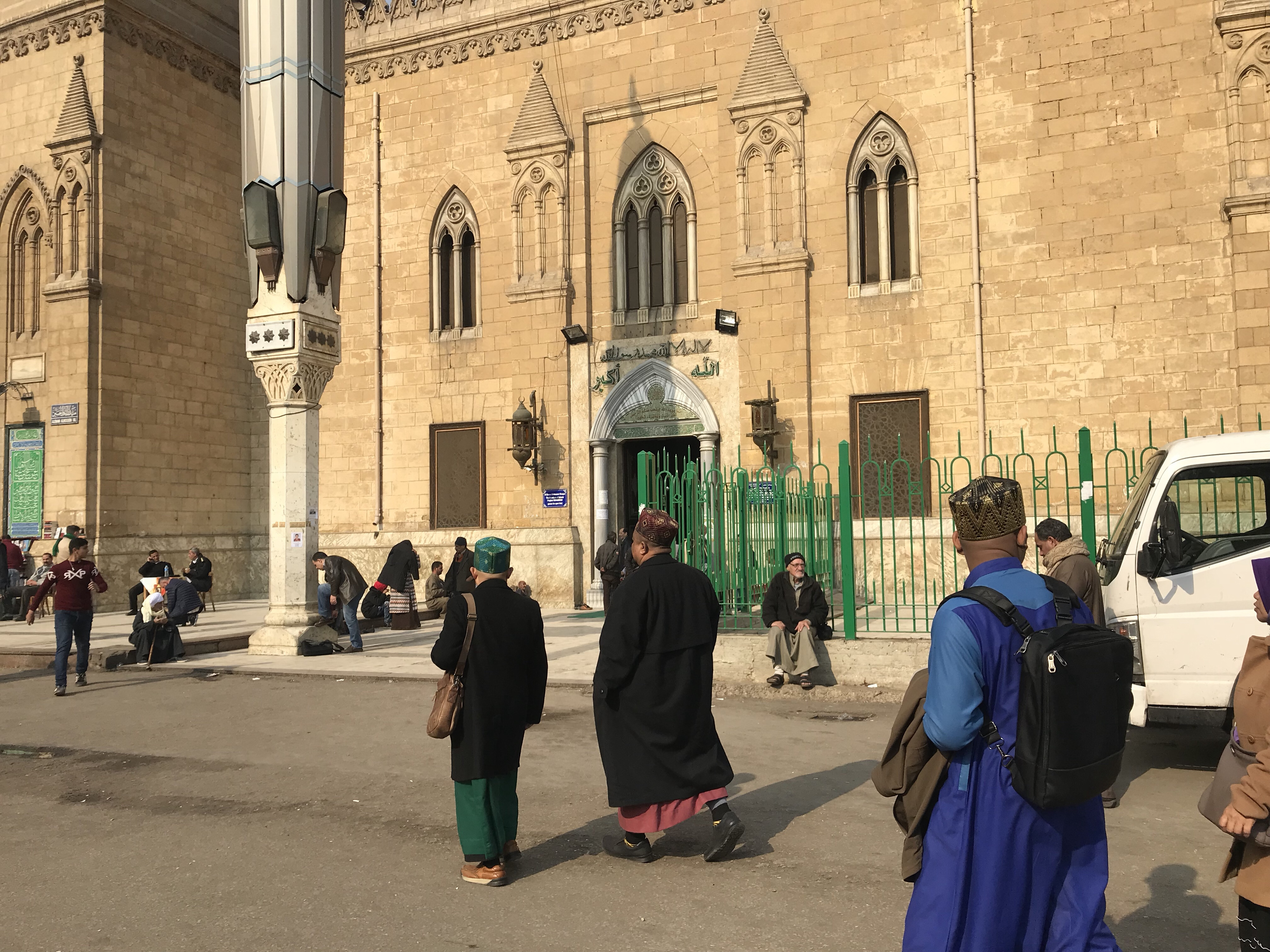 Depan Masjid Saiyidina Husin RA